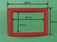 Kalendářový jezdec NIKA 34 mm x 23 mm, 10 000ks
